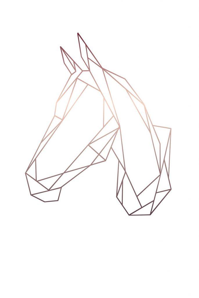 Barntavla häst